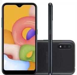 Vendo celular A01 novo
