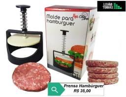 Modelador Molde Prensa Hambúrguer Artesanal Lanche Top Chef