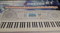 Teclado musical onevox k1