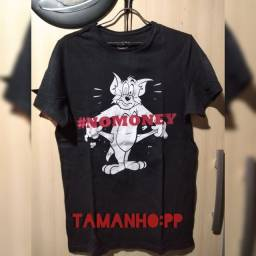 Camiseta do Tom e Jerry