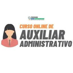 Curso de auxiliar administrativo completo e 100% online e com certificado.
