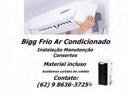 Instalação e Consertos em Ar condicionado split de todas as marcas e modelos