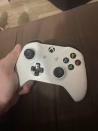 Controle original Xbox One s branco