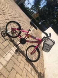 Bicicleta Infantil Feminina, aro 16, Semi Nova em perfeito estado, Braciclo Child Bike