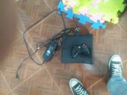 Xbox 360 com controle