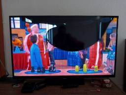 TV Samsung 43, tela quebrada, mas funciona!