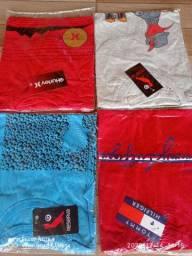Camisa sem por 100 algodão