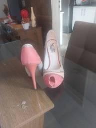 Sapato Rose com Nude, N°36