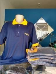 Bordado Silk e sublimação camisas para sua empresa