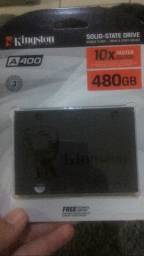 SSD SKINGSTON 480GB LACRADO NA CAIXA