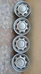 Rodas 13 de Tampinha  linha VW (marmitinha)