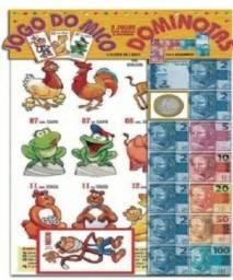 Jogo do Mico e Dominotas 2 em 1