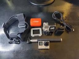 GoPro Hero 4 Silver + Acessórios