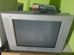 TV Philips 21 Pol com conversor novo