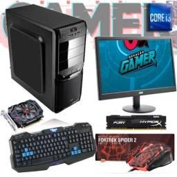 Computador Pc Gamer Intel I3 4170 8gb Hyperx Radeom Hd 6570