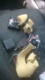 Interfaces e uma central corta corrente