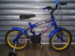 Bicicleta infantil aro 16 dos Vingadores