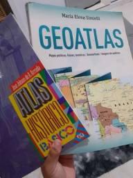 Vendo Atlas histórico e geoatlas (vendo separado também)