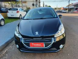 Peugeot 208 1.6 flex griff automatico 2016 teto panoramico