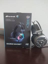 Headset Gaming RGB Fortrek G pro - H1 plus 7.1 sound