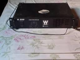 Potência Wvox machine A250