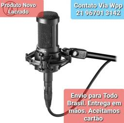 Microfone Audiotechnica AT 2050 LACRADO NOVO