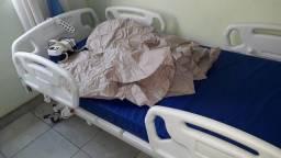 Cama hospitalar + Colchão ante-escaras