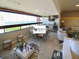 Apartamento porteira fechada , vista mar para venda em Patamares, Salvador com 3 quartos s
