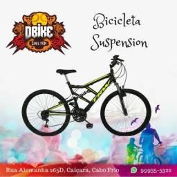Bicicleta full Suspension 0km
