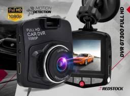 Câmera Veicular GT300 Full HD 1080P - Preto
