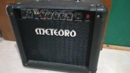 Amplificador De Guitarra 15w Rms Nitrous Drive Preto Nde15 Meteoro