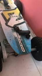 Skate com Motor