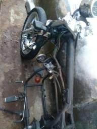 Vendo peças de moto custom (kansas 150