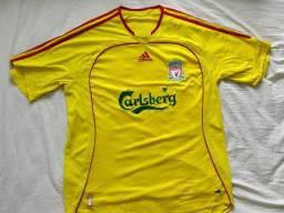 Camisa Liverpool amarela