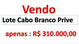 Lote Cabo Branco Prive