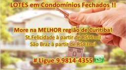 Lotes em St.Felicidade #CondominioFechado #DiretoComOProprietário Ligue : 9 9814-4355 zap