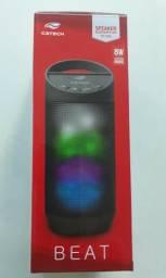 Caixa de Som Speaker Bluetootch Led SP-B50