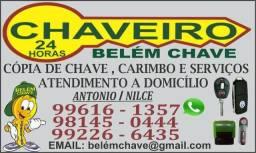 Chave carimbo e serviço