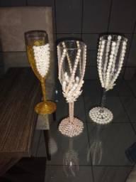 Taças personalizadas para casamentos