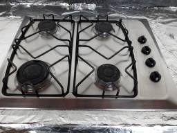 Cooktop 4 bocas inox