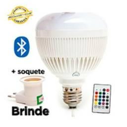 Lampada Led Rgb Musical Bluetooth Caixa De Som Bulb l2w