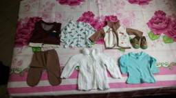 Kit roupas menino