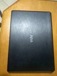 Notebook dell i3 3217, 4gb de memoria ddr3 e hd 500gb