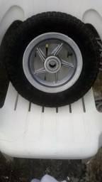 Rodas para carro de espetinho ou grego