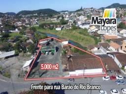Terreno na rua Barão do Rio Branco em São Francisco do Sul - SC Área Total de 5.000 m2