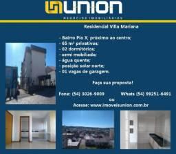 Oferta Imóveis Union! Apartamento com 65 m² privativos no Bairro Pio X, próximo ao centro!