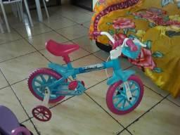Carrinho + bicicleta