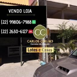 G Cód 305 Vendo Excelente loja em Unamar Cabo Frio