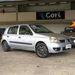Renault clio 1.6 authentique 16v flex 4p manual - 2008