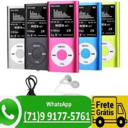 Mp4 Player Fino Slim Gravador Voz Radio Fm Fone Filmes Cores (NOVO)